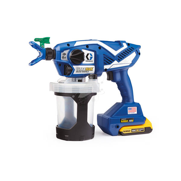 GRACO 17E644 ULTRA MAX II 795 PROCONTRACTOR 110V UK Professional Airless Paint Sprayer for interior and exterior latex paints  acrylics  oil-based primers and block fillers